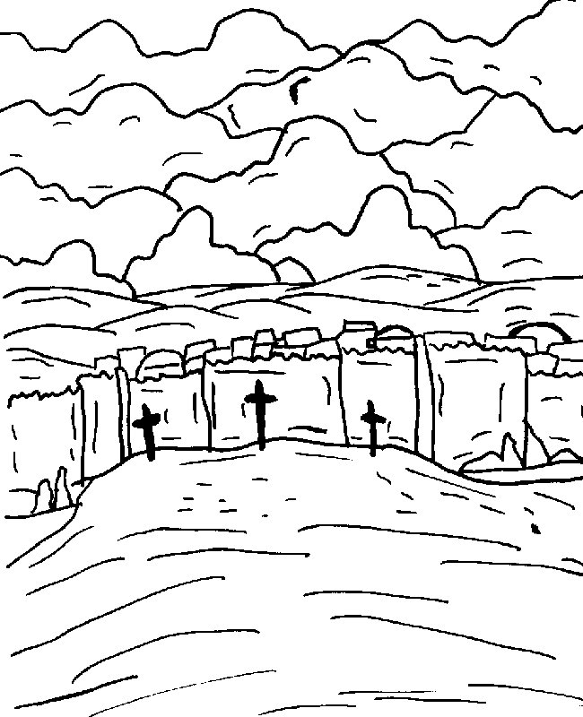 calvary kids coloring pages - photo#13